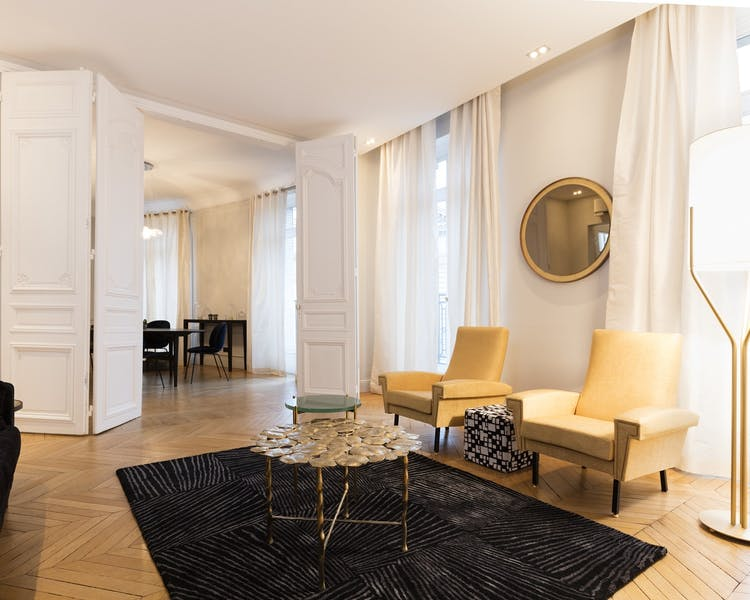 St-Germain Residence - Luxury 4BR -Living & Dining Rooms