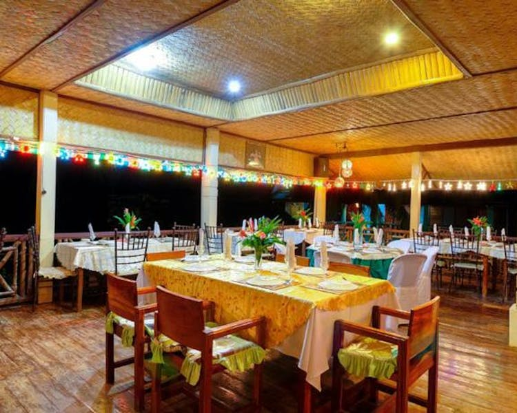 Lally and Abet Restaurant (2nd floor) can accommodate small functions
