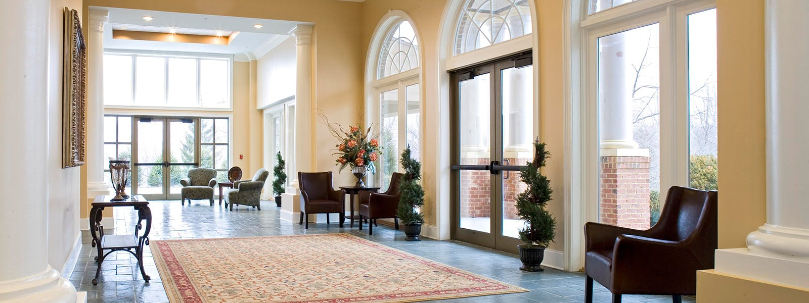 Bright Foyer at Glade Springs