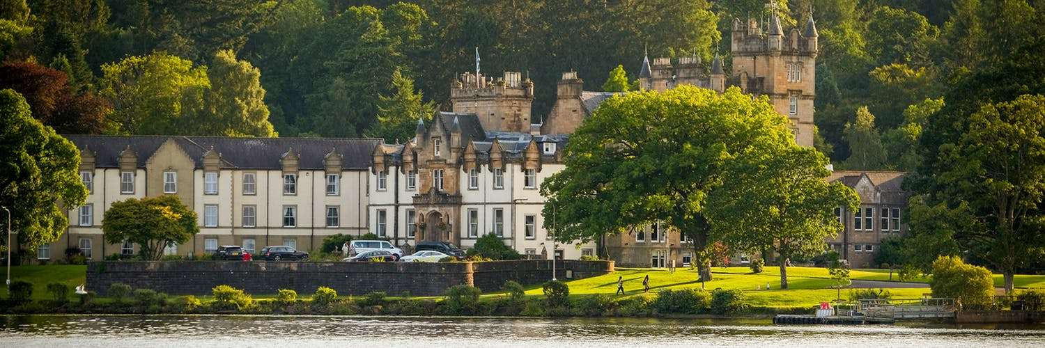 View of Cameron House & Loch Lomond Water
