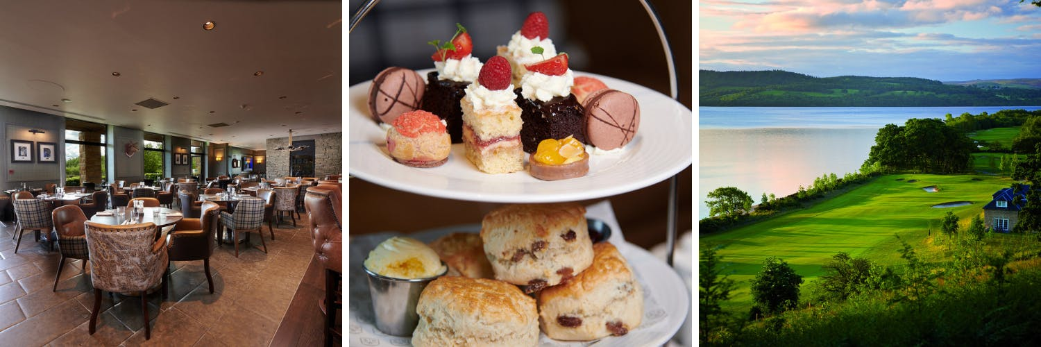Afternoon tea cakes, buns & scones