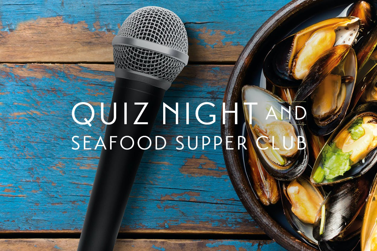 Loch Lomond Quiz Night & Seafood Supper Club