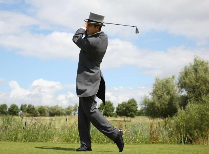 Wedding Guest Golfer
