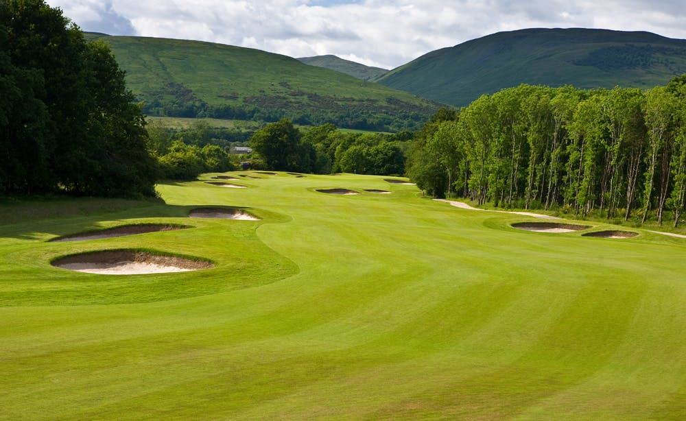 The Carrick Golf Course Fairway