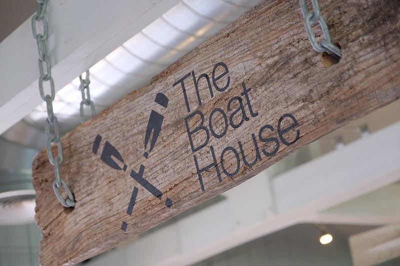 The Boat House Sign