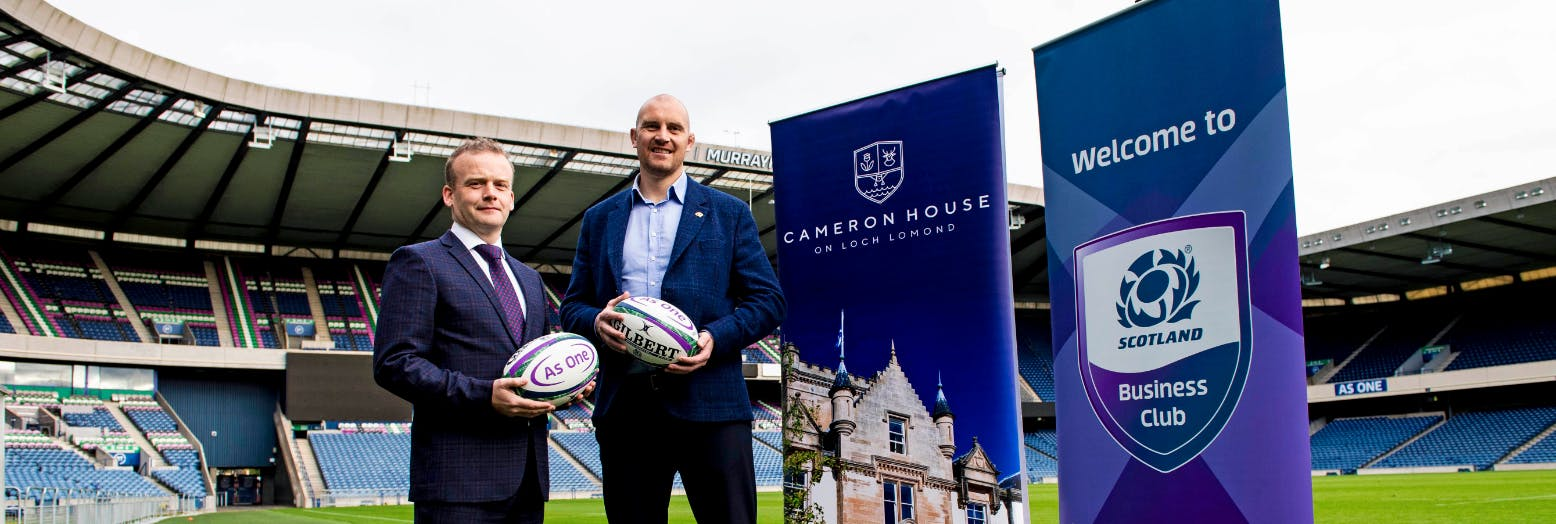 Partnership with Scottish Rugby