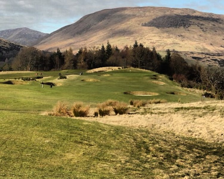 Golf Course at Loch Lomond