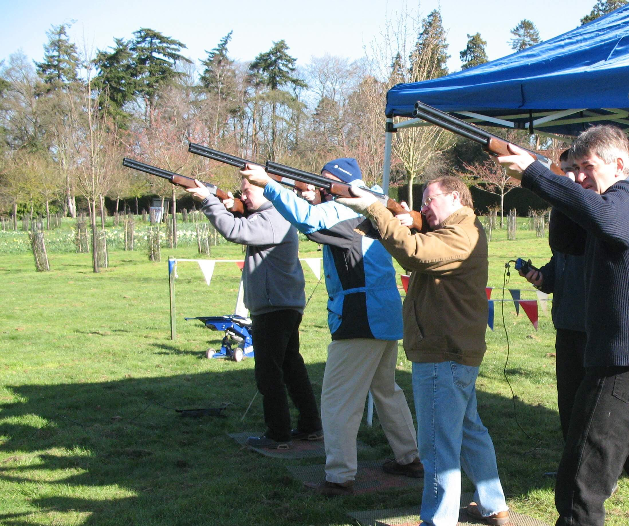 Clay Pigeon Shooting Loch Lomond