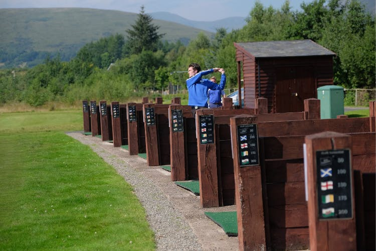 The Carrick golf driving range