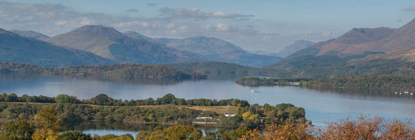 Loch Lomond & Mountains
