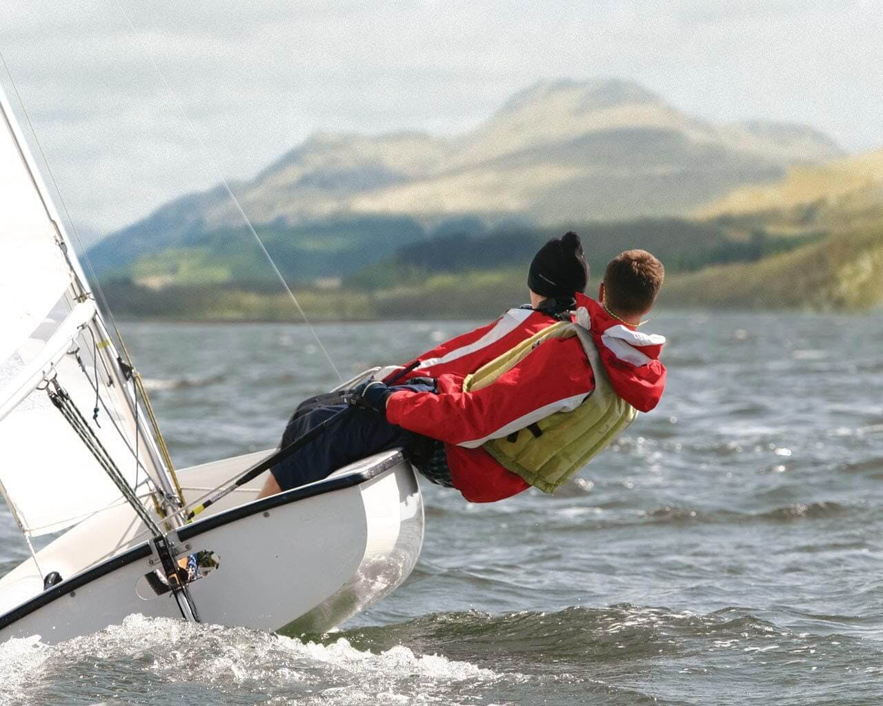 Water based activities on Loch Lomond