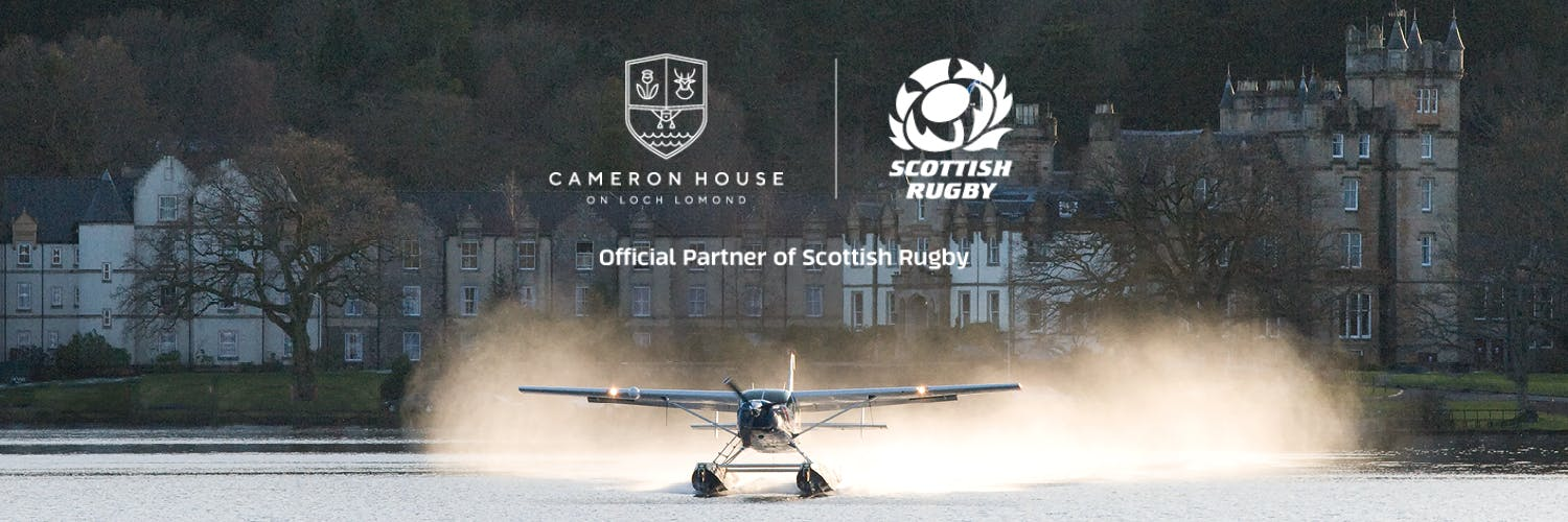 Cameron House partnership with Scottish Rugby