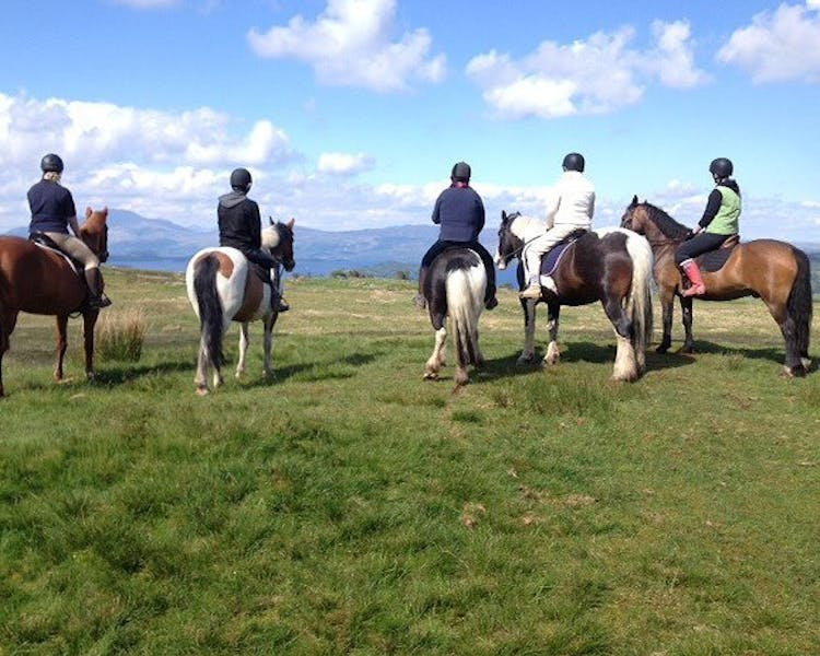 Pony Trekking at Loch Lomond