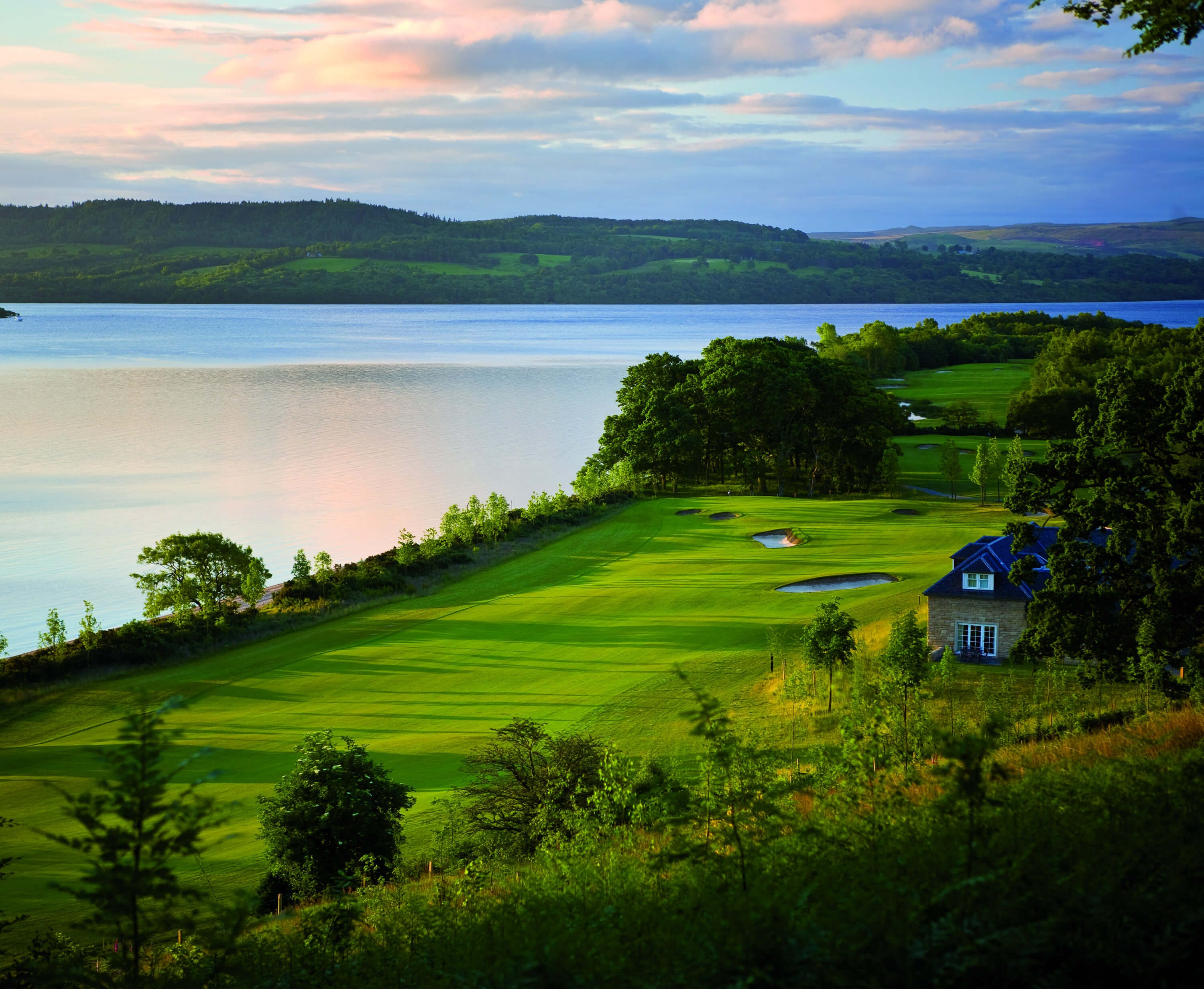 Cameron Lodges & Carrick Golf Course View in Loch Lomond