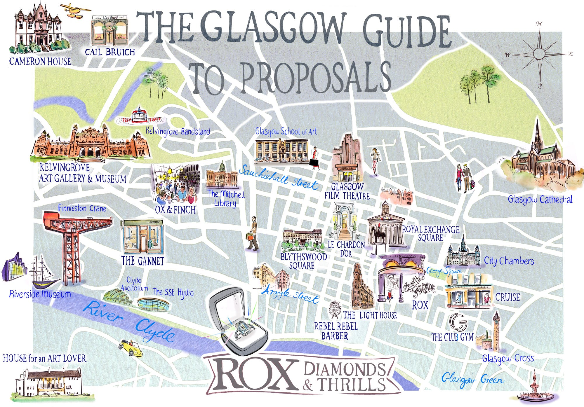 Glasgow Guide to Wedding Proposals