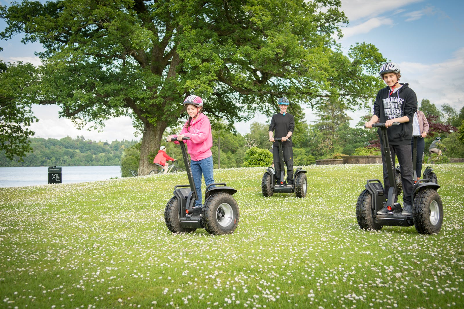 Family Segway Tours Loch Lomond