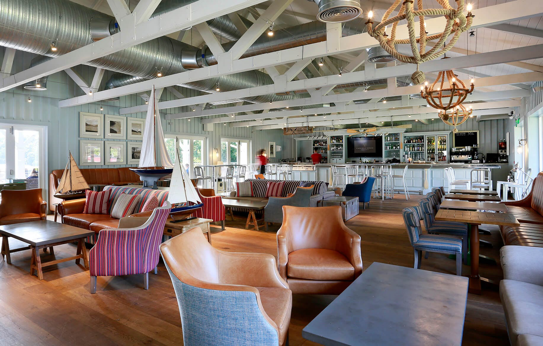 The Boat House Restaurant Interior
