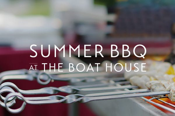 Summer BBQ at the Boat House