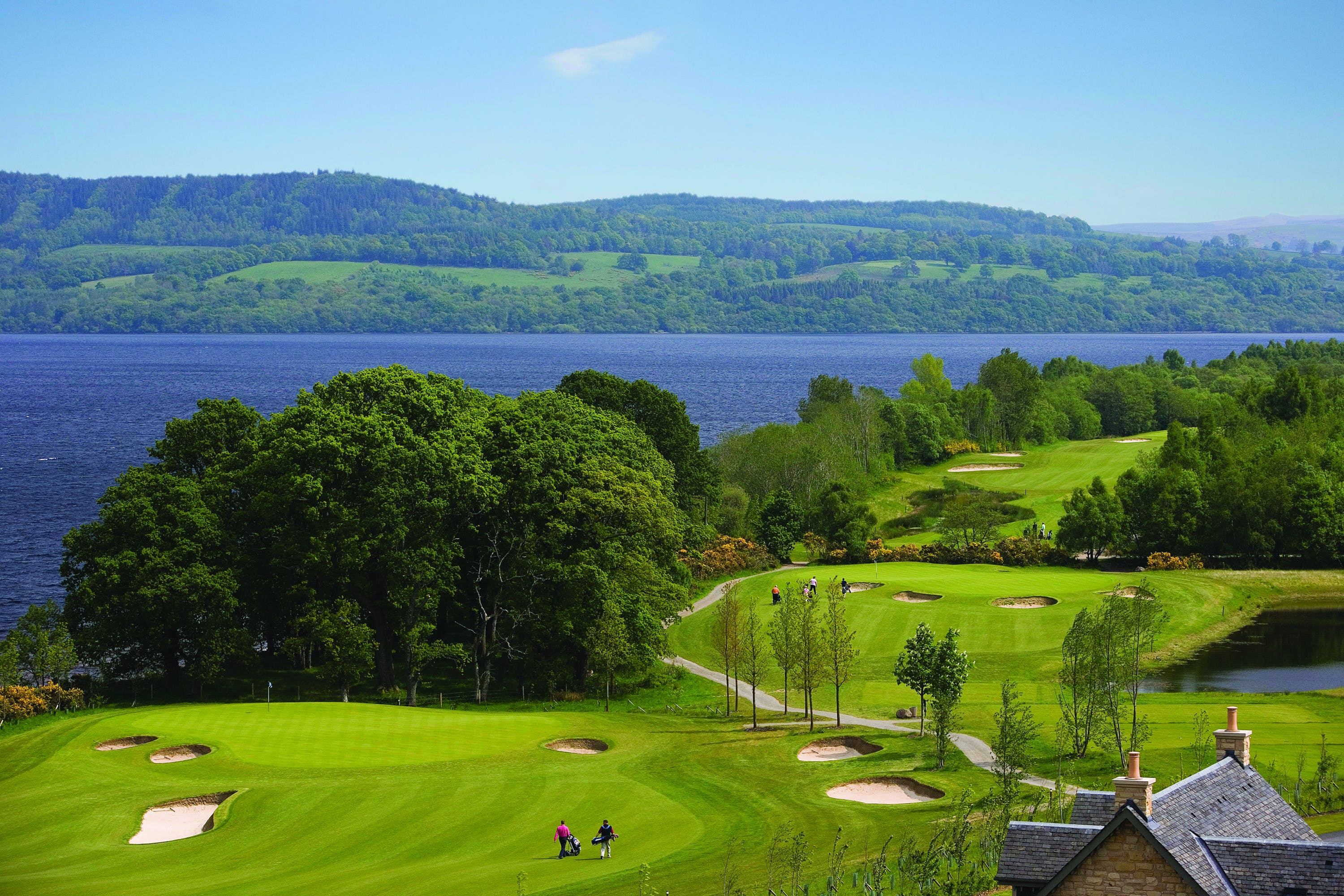 The Carrick Golf Course & Loch Lomond