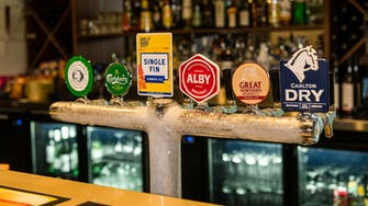 Beer on tap at the sports bar in Wattle Grove