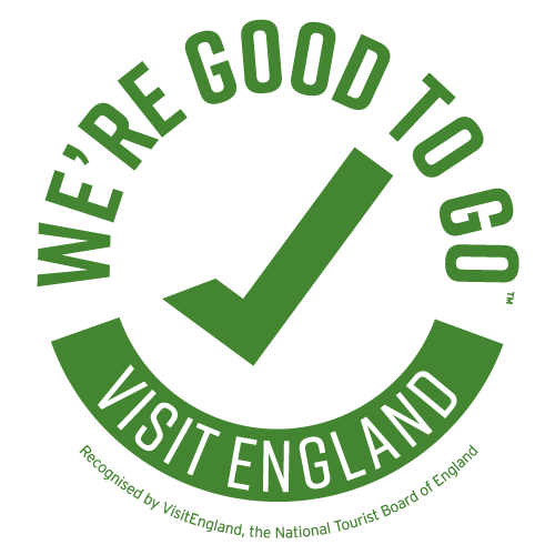 We're Good To Go VIsit England Kitemark