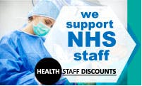 We support NHS Staff via HealthStaff Discounts