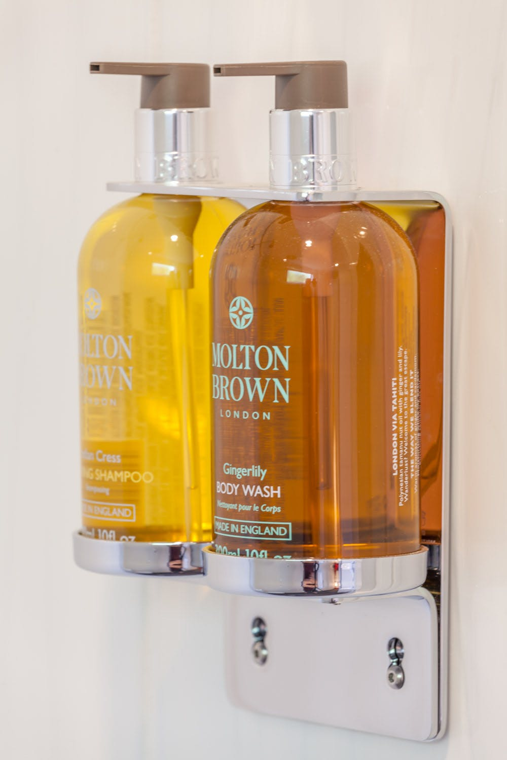 Molton Brown luxury toiletries