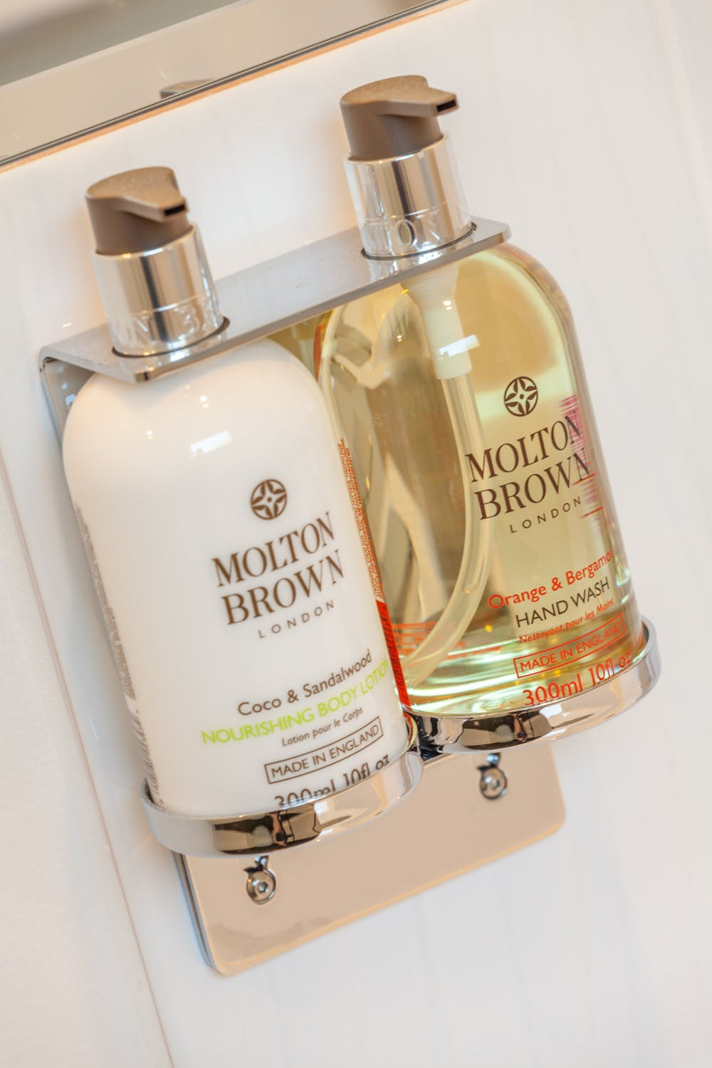 Molton Brown toiletries