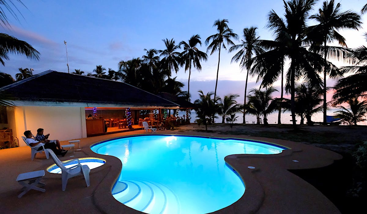 Siquijor swimming pool white villas resort 1MB