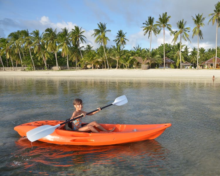 Kayaking White Villas Resort Siquijor Island Sunset 1MB