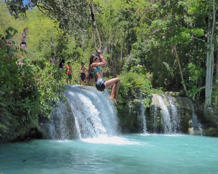 Cambugahay Falls White Villas Resort Siquijor Island 1MB