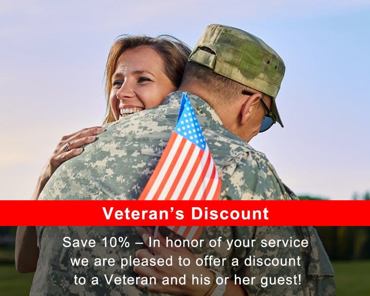 10% Veteran's Discount at18 Vine Inn and Carriage House in Hammondsport, NY