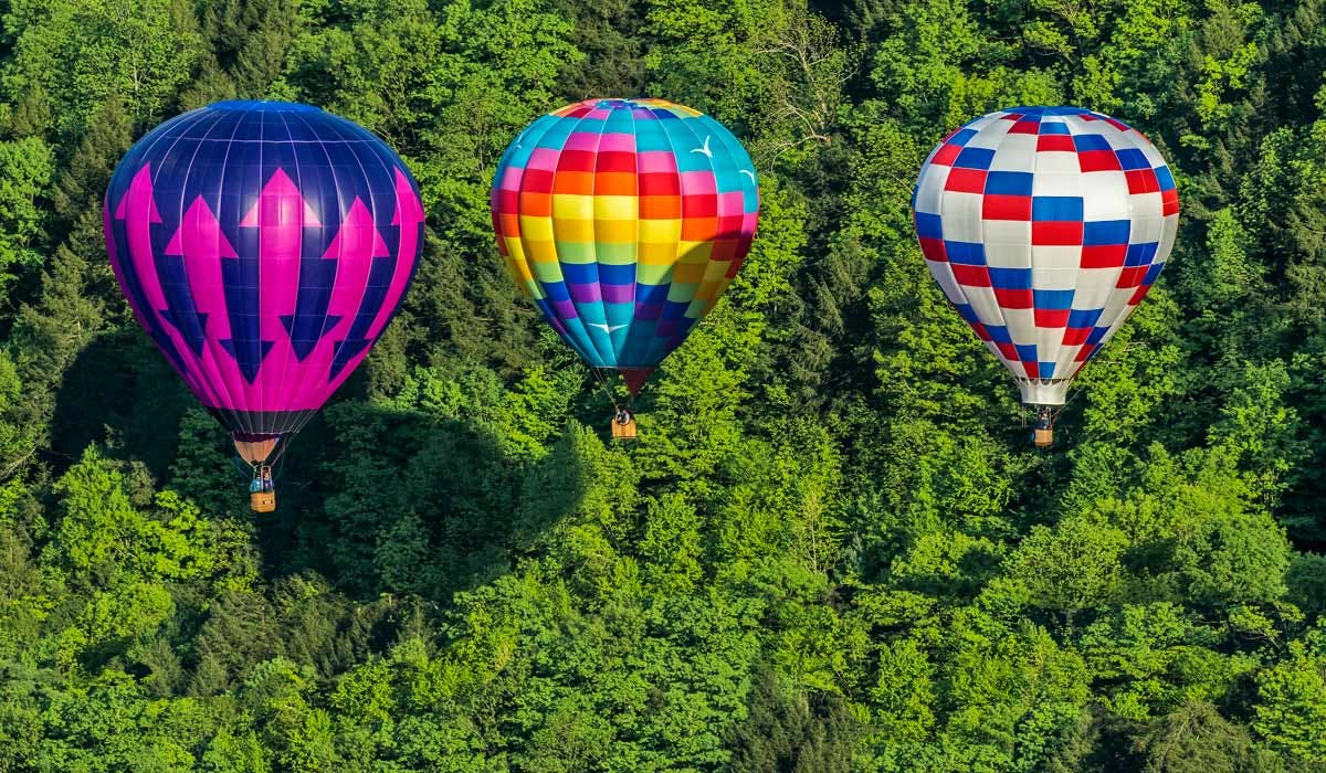 18 Vine Inn and Carriage House Ballooning