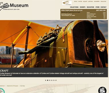 18 Vine Inn and Carriage House - Area Attractions, Glenn Curtiss Museum