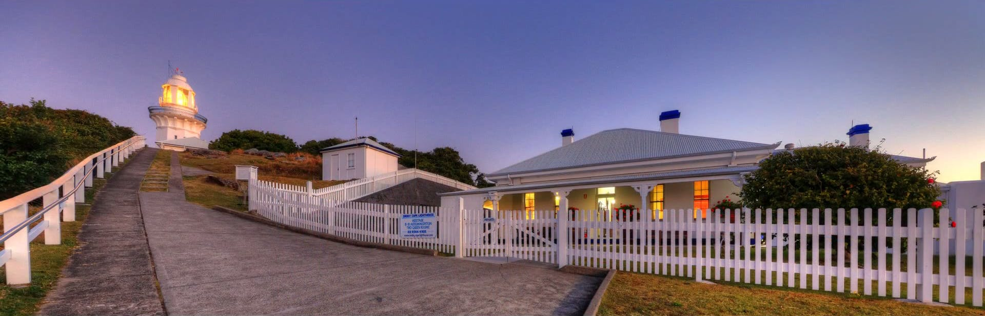 Smoky Cape Lighthouse & Cottages, South West Rocks
