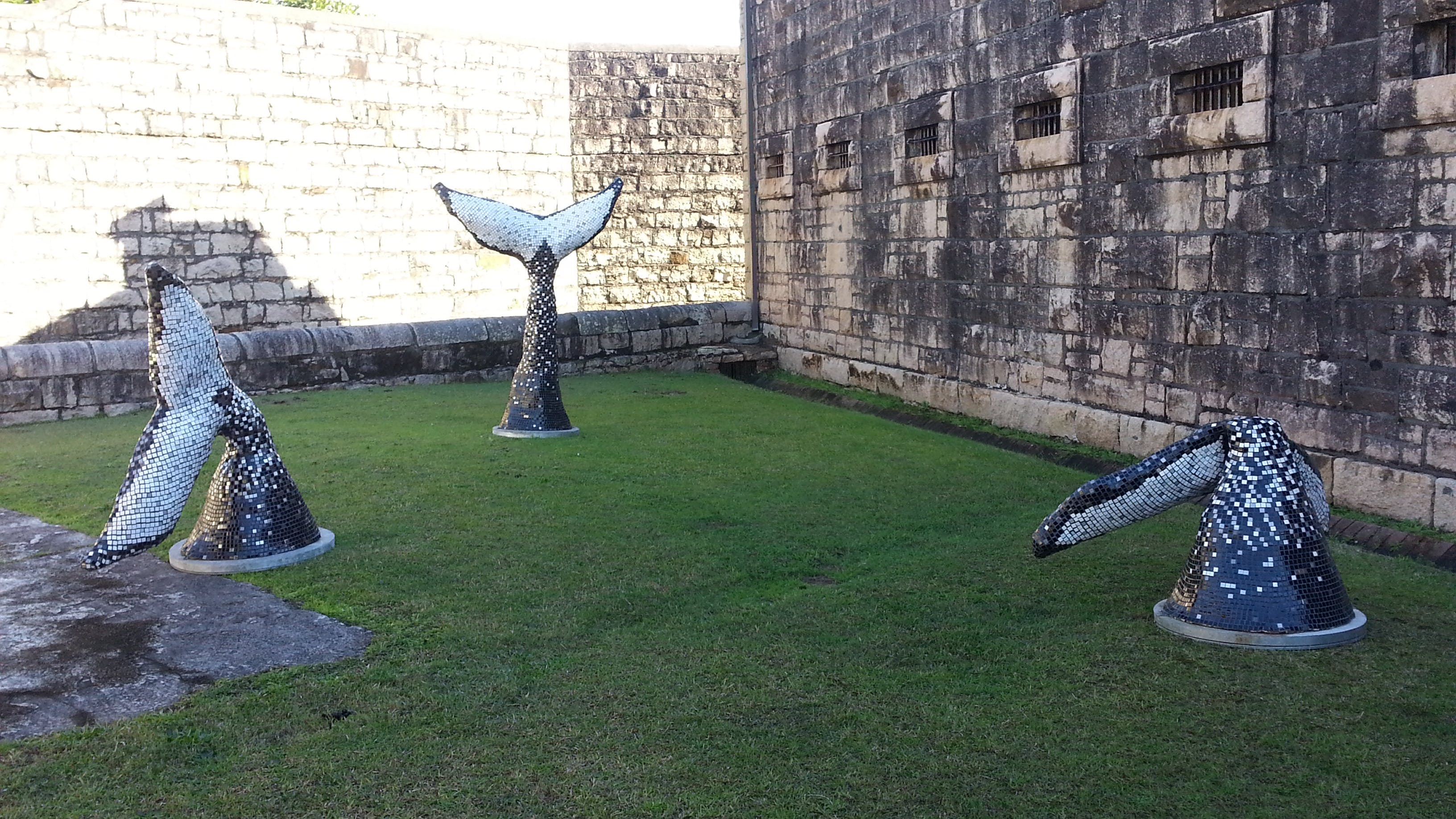 Sculptures in the Gaol - Trial Bay Gaol