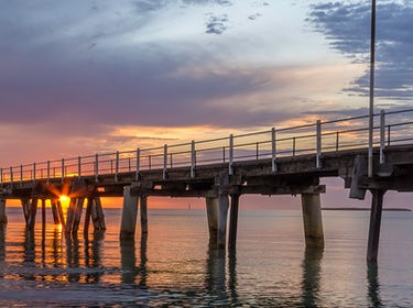 Sunrise Tumby Bay Jetty 1