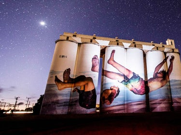 Tumby Bay Silo Art JDog photography 1