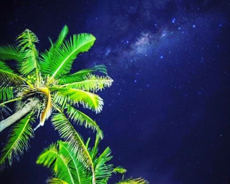 beachfront boutique hotel coral coast fiji milky way star gazing
