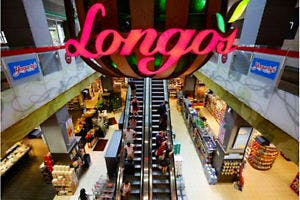 Longos grocery store open till 11:00 pm just next door.