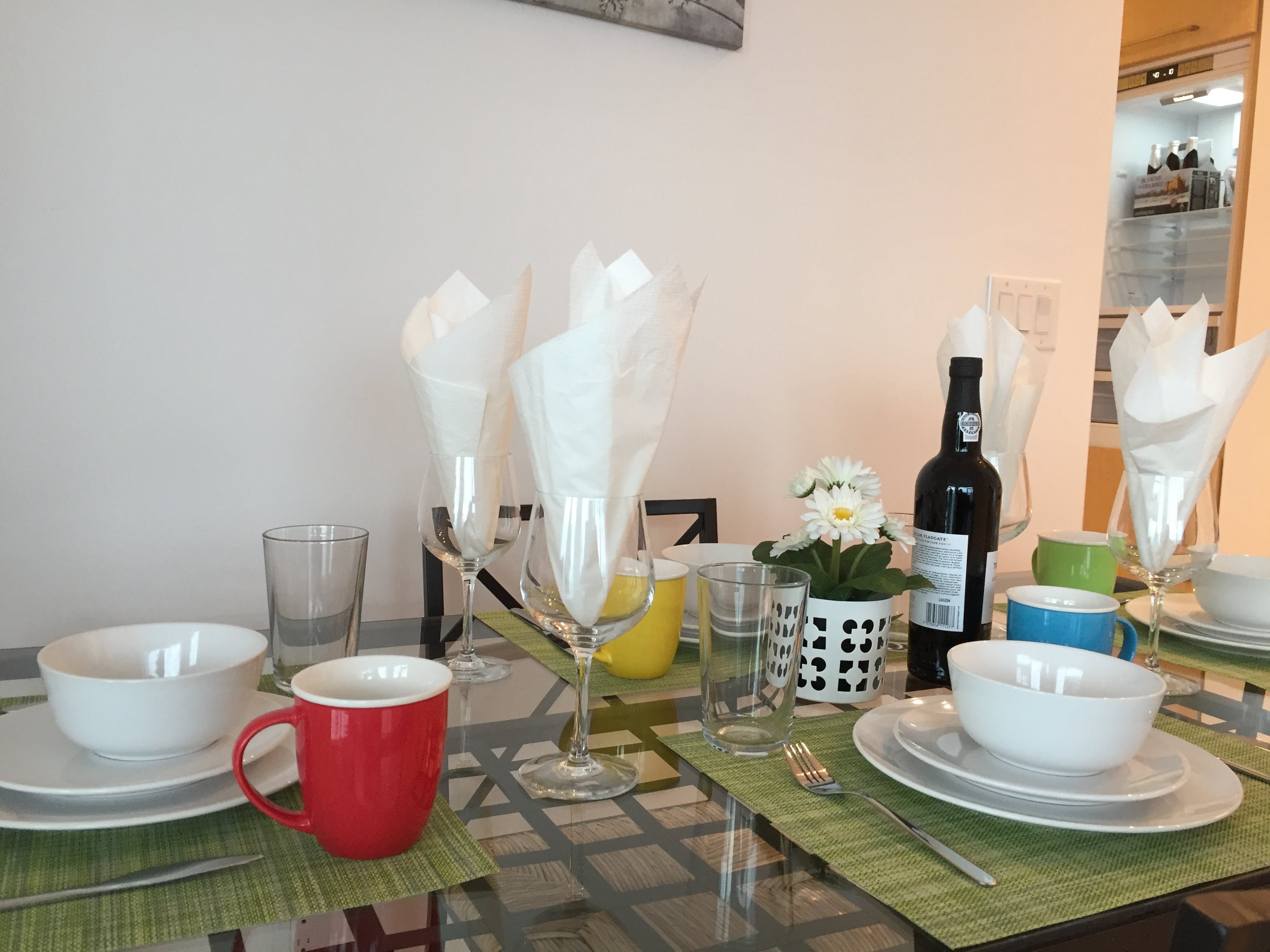 Dining in at iHost Suites. iHost Suites are a cost-reduced alternative to suite hotels.