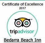Bedarra Beach Inn - Certificate of Excellence 2017