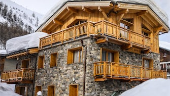 Chalet occupation privative - Demi pension inclus