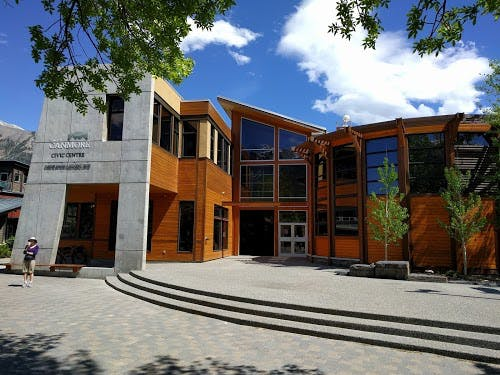 Canmore town hall and historical museum