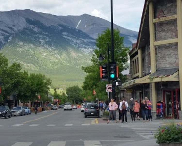 Great dining, drinking and shopping in classy downtown Canmore