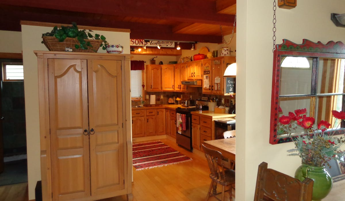 kitchen available for tea, coffee, lunches and staff