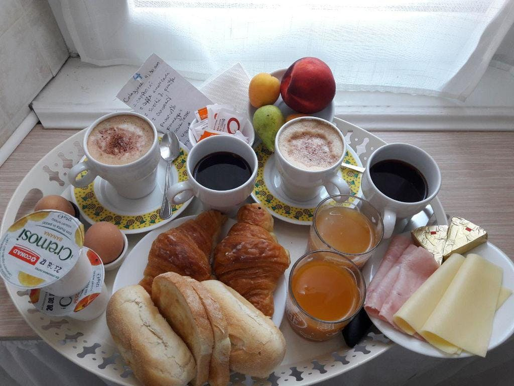 Our breakfast room service free