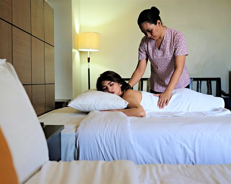 In-room Massage