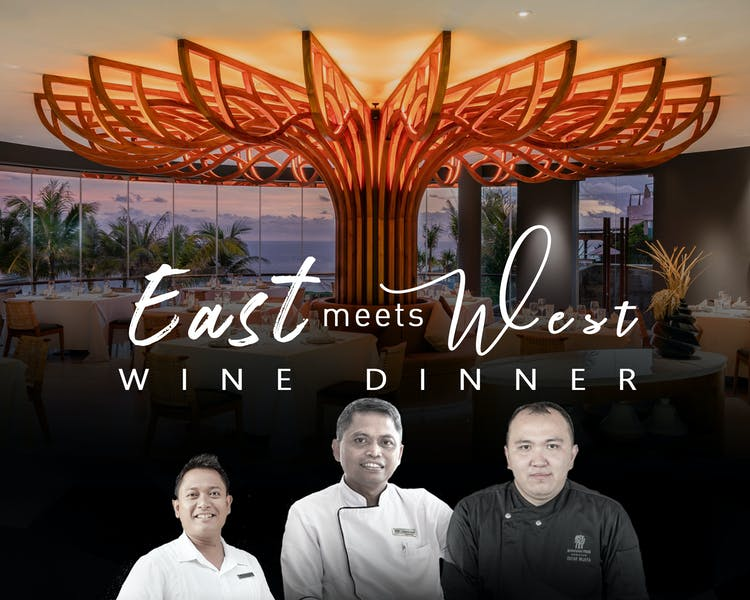 Seas - East meets west wine dinner