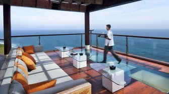 The Cliff Bar at The edge Luxury Villa Resort, Uluwatu Bali